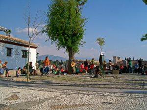 Bezoek Granada - Sarah Belwriting Reisblog - Mirador San Nicolás