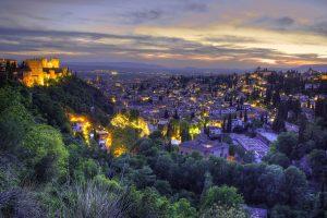 Bezoek Granada - Sarah Belwriting Reisblog - panorama