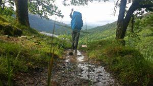 Sarah Belwriting - Wandelroute Schotland