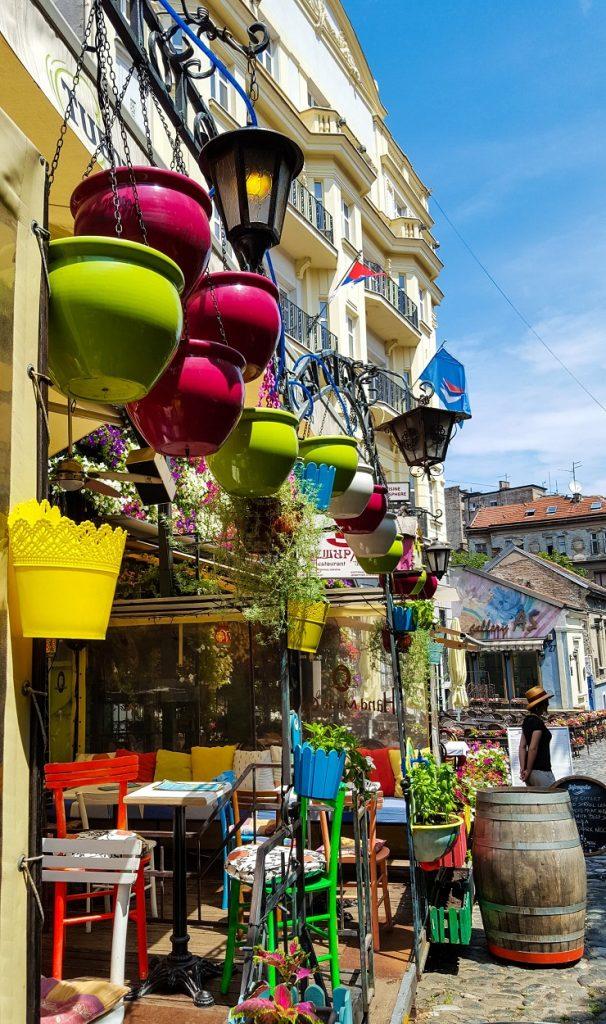 Sarah Belwriting Reisblog Belgrado Skadarlija