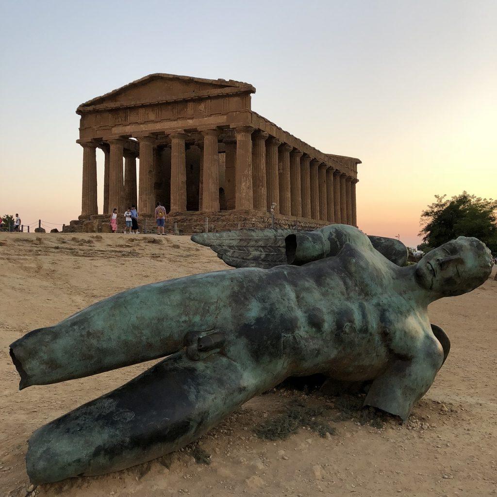 Reisinspiratie Sicilië Valle dei Templi Sarah Belwriting