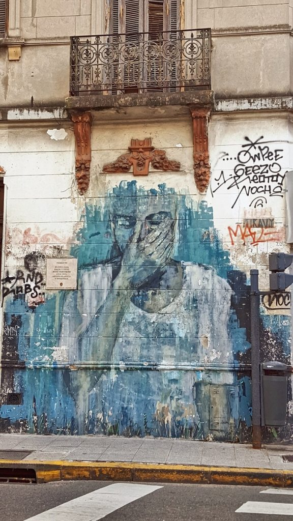 Sarah Belwriting Reisblog Argentinië Hotspots Buenos Aires Streetart