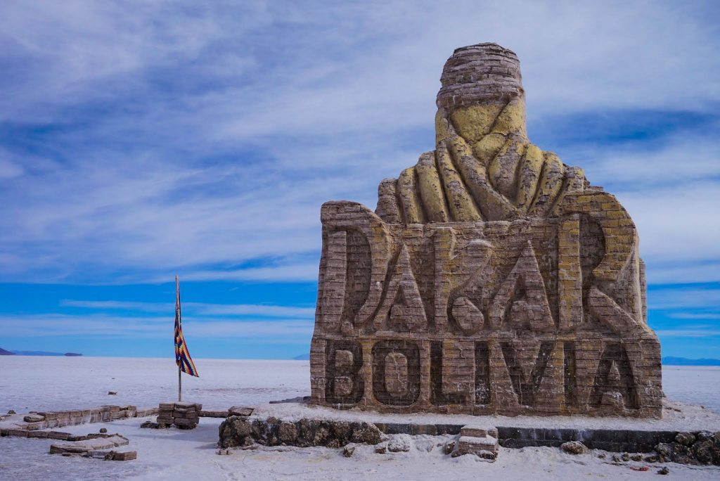 Salar de Uyuni Bolivië